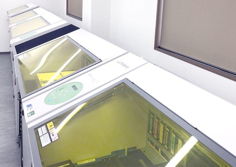 3階 UVインクジェットプリンタの写真